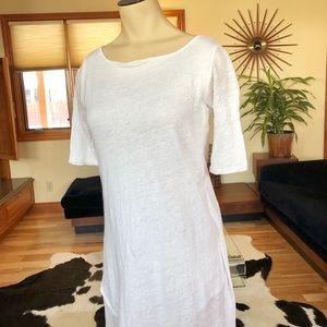 White Linen Dress, Excellent Condition